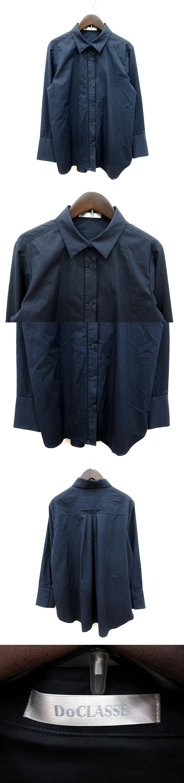 シャツ 長袖 11 紺 ネイビー /MS