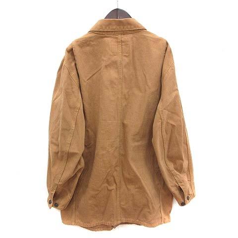 リーバイス Levi's ジャケット カバーオール 38 茶 ブラウン キャメル /KB メンズ