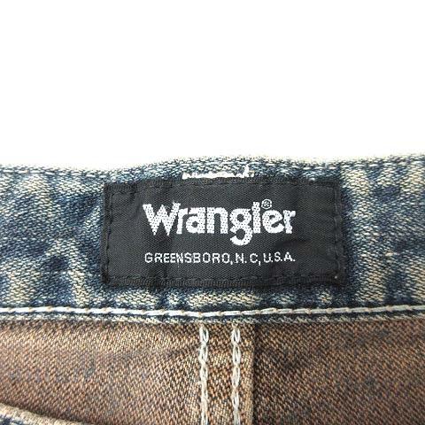 ラングラー WRANGLER パンツ デニム ジーンズ ユーズド加工 31 青 ブルー /KB メンズ