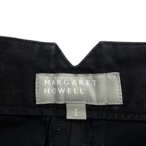 マーガレットハウエル MARGARET HOWELL ワイドパンツ 1 紺 ネイビー /MN レディース