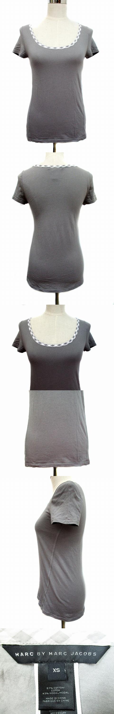 Tシャツ カットソー 半袖 クルーネック XS グレー